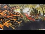 SLACSATU - HALLOWEEN GRAFFITI