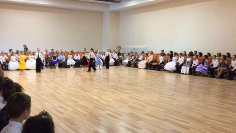 Ансамбль бального танца «Ониона».Софийский бал 2018.