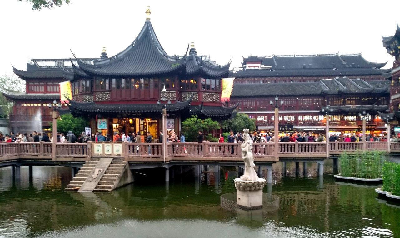 Старый город или древнее сердце Шанхая