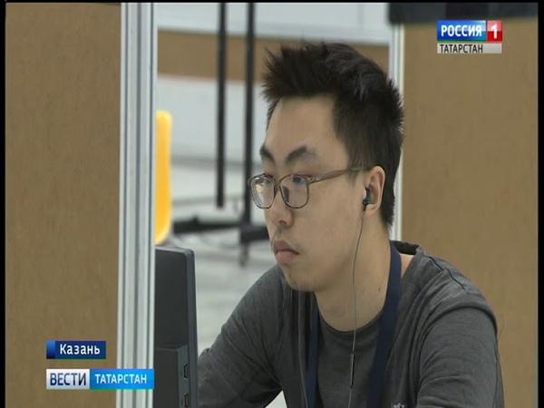 В Казань Экспо состоялось торжественное открытие чемпионата в сфере информационных технологий