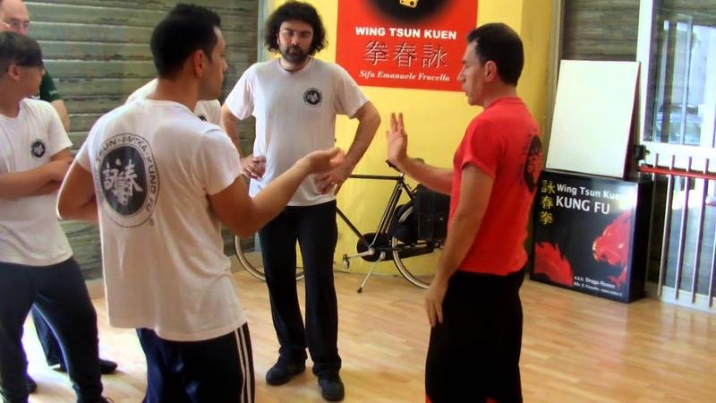 Wing Tsun, Sifu Emanuele Fracella spiega il Dan Chi-Sao
