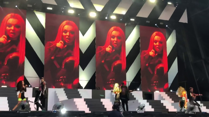 Little Mix - How Ya Doin' - 7th July 2018 - Swansea - The Summer Hits Tour 2018