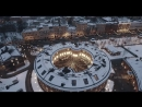 НОВОГОДНИЙ САНКТ ПЕТЕРБУРГ 2018 SKYSLANT New Years in St Petersburg aerial
