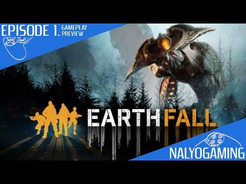EARTHFALL, PS4 Gameplay First Look, Episode 1. (Solo Online Co-op Gameplay)