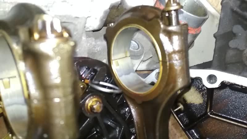 Mercedes Benz E200 Kompressor (W211) M271.941 (Ремонт ДВС) Разборка ч.5
