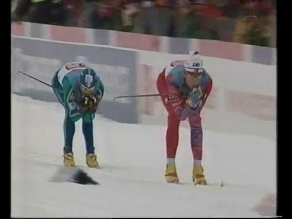 Лыжные гонки. Чемпионат мира 1997. Тронхейм. Эстафета 4х10. Мужчины