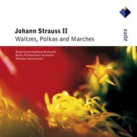 Nikolaus Harnoncourt альбом Strauss, Johann II : Waltzes, Polkas & Marches