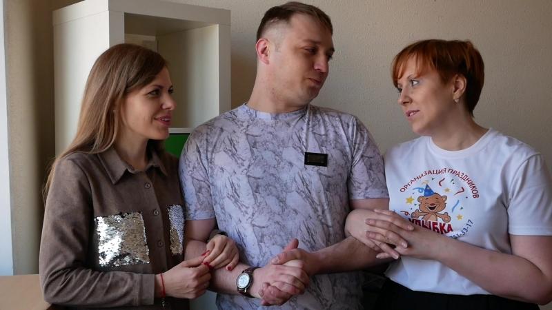 Татьяна Трофимова (Псков), Андрей Кузьменко (Псков), Евгения Ермакова (Санкт Петербург)
