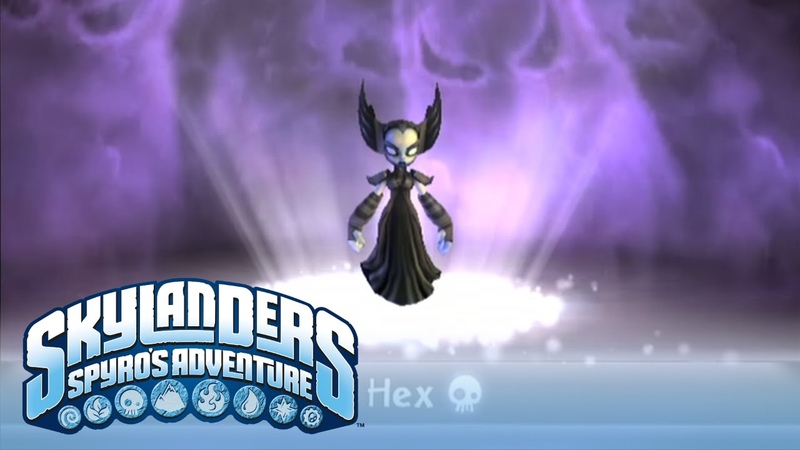 Meet the Skylanders Hex
