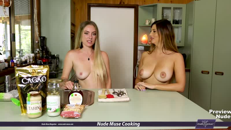 Nude Muse Cooking S07E02 Scarlett-Morgan and Venus-Rose