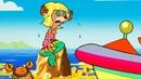Обучающий мультфильм для детей - Русалка🧜♀️ - Приключения в Соленой Бухте! –Маскарад – серия 2