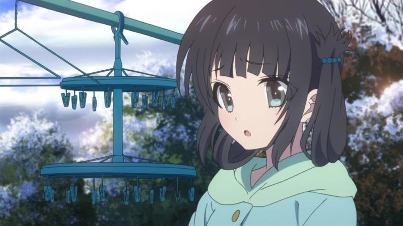 MiraiDuB Безоблачное завтра Nagi no Asukara 15 серия MVO