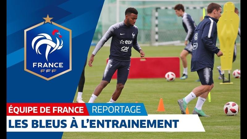 Equipe de France : A la veille du départ pour Nijni Novgorod I FFF 2018