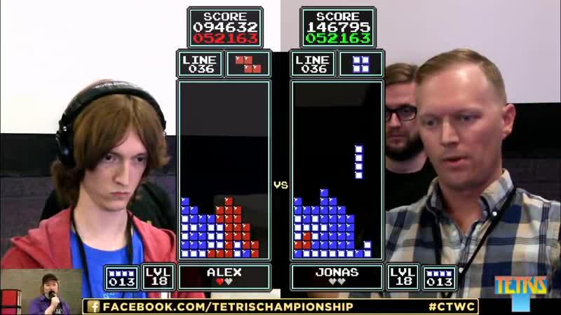 Alex Kerr vs. Jonas Neubauer - Classic Tetris World Championship