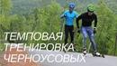 Как тренируют длинные интервалы Алексей и Илья Черноусовы