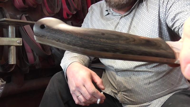 AlphaKnives Как самому сделать рукоять ножа нескользкой На примере Крейсера от UralEDC