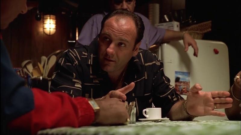 Клан Сопрано, Тони выслушивает от своих капитанов претензии к Джуниору