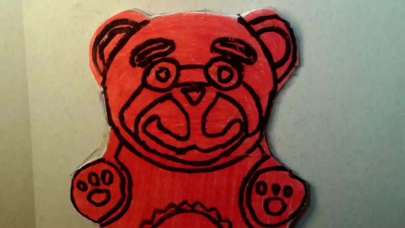 Желейный Медведь Валера Между нами шоколад Нуб и Pro mp4