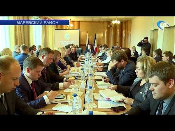 Экономику Маревского района предлагают укреплять за счет добычи илистого удобрения