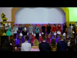 Прощальный концерт 11-A подарок учителей