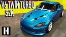 Twin Turbod and V6 Swapped S2000 Not your average S2K!!
