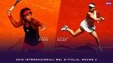 Naomi Osaka vs. Simona Halep 2018 Internazionali BNL d'Italia Second Round WTA Highlights