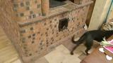 Русская печь с подтопком по системе Живая Баня - Живой Дом. Теплый пол за счёт печи.