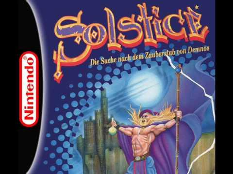 Solstice Music (NES) - Title Screen Theme