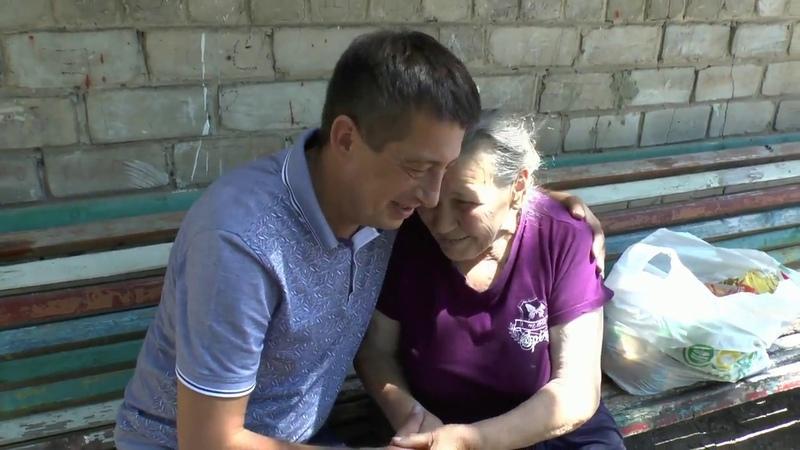 помощь жительницы Германии пенсионерке в Еленоке