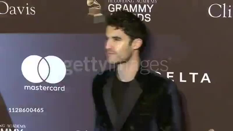 VIDEO Darren Criss at the Clive Davis and the Recording Academys Pre-GRAMMY Gala at The Beverly Hilton Hotel on February 09, 201