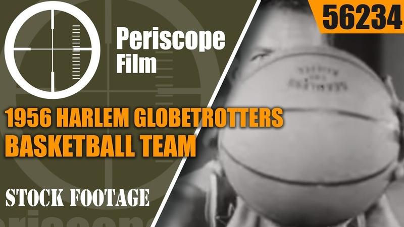 1956 HARLEM GLOBETROTTERS BASKETBALL TEAM FABULOUS HARLEM GLOBETROTTERS