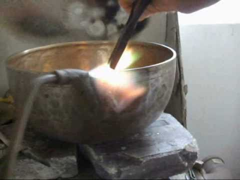 Soldering a Singing Bowl