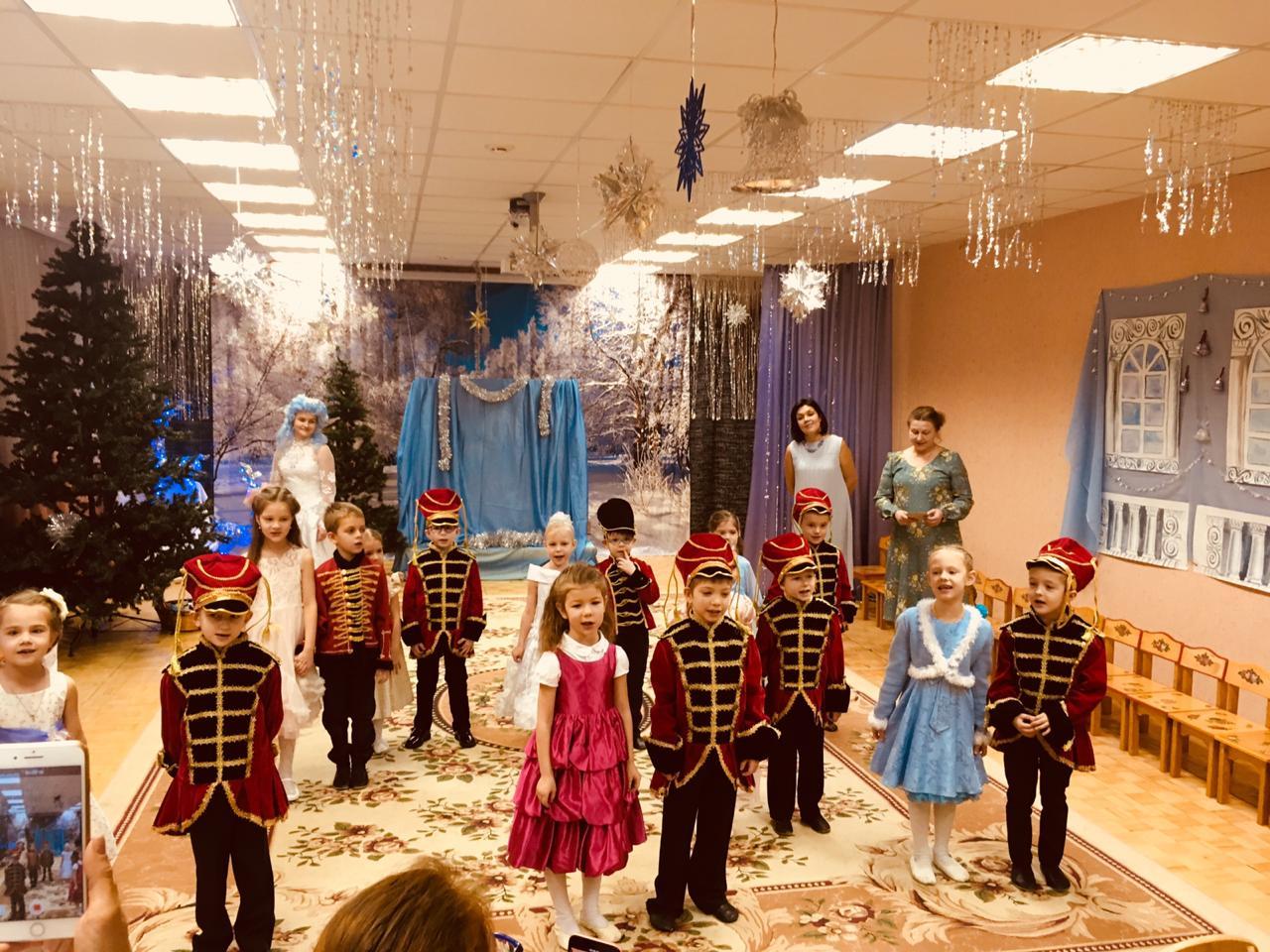 Рождественский праздник в православной группе детского сада