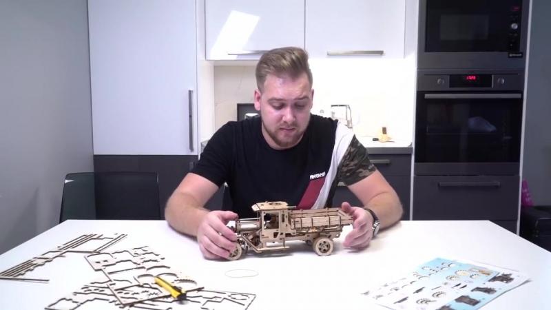 Деревянный конструктор Ugears вновь удивляет!