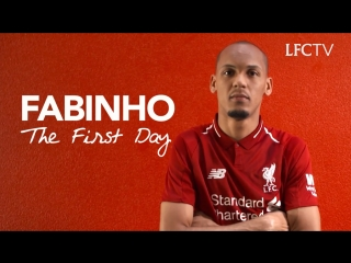 Fabinho's First Day - Signing Day Vlog