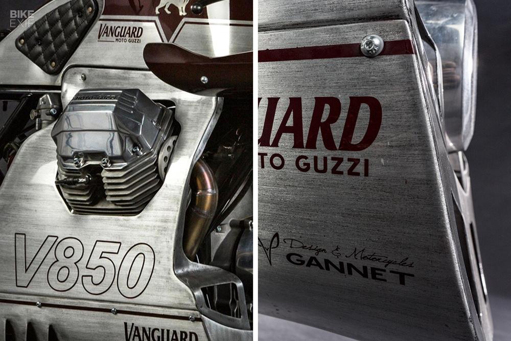 Gannet Design: кастом Master of Endurance на базе Moto Guzzi Le Mans