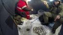 Сахалин. Ловля корюшки малоротки на озере малое Буссе. 11 декабря 2018 года