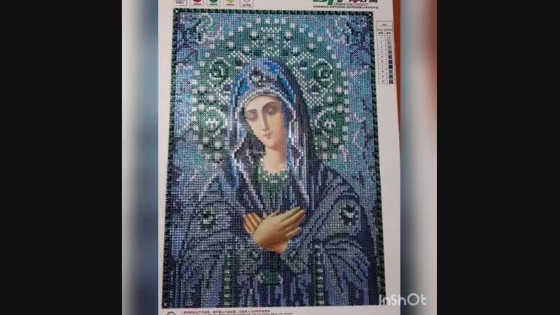 Икона Пречистой Божией матери Умиление Серафимо-Дивеевская