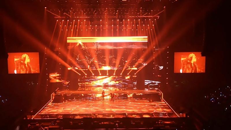 9x9 The Final Concert | Jayler x Porsche | Love The way you lie ยูนิตไฟลุก