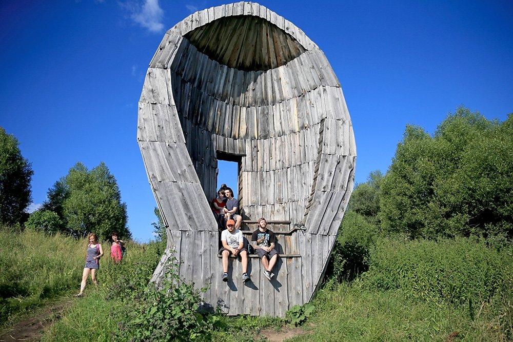 yntLJn-dFY8 Никола-Ленивец арт-парк в Калужской области.