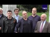 Хор Турецкого выступил в Любляне