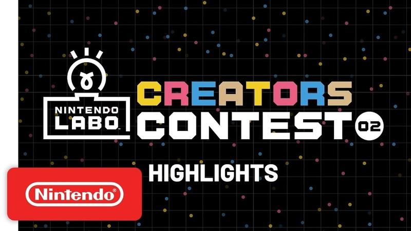 Nintendo Labo Creators Contest No. 2 Highlights