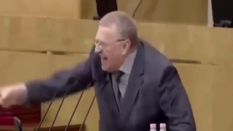 Речь Жириновского в обратной перемотке