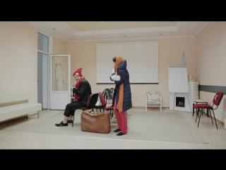 ЧУДО (учебный этюд), в ролях: Сергей Ионин, Ирина Левущенко, Евгений Любин, ИНСАЙТ, 2018