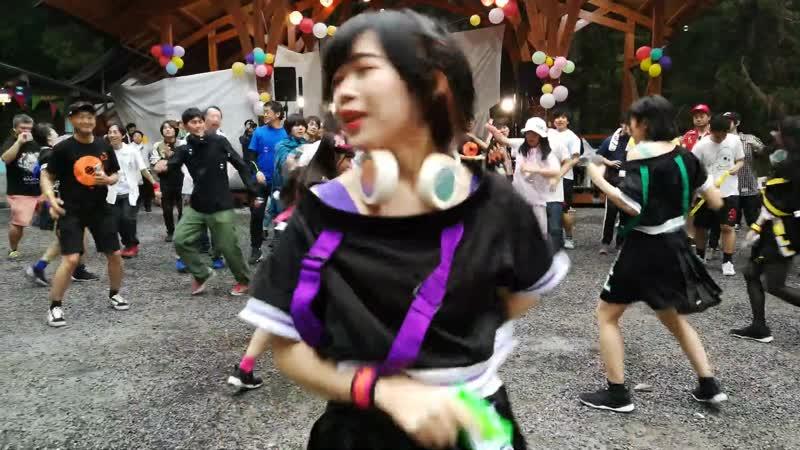 GuGu LULU「Caution!!」 サワソニ38キャンプ 野外ライブ 04/05/2019