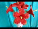 Модульное оригами, китайская роза (краткое описание)/ Modular origami,Chinese rose V21