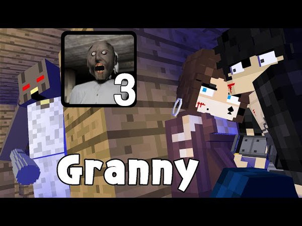 Granny horror game survival 3 - minecraft animation