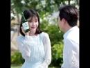 CF 180424 @ Chamisul Soju Hite Jinro IU x Park Seojoon Instagram Update
