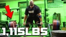 1 115LB DEADLIFT TRAINING SESSION TERRY HOLLANDS BRIAN SHAW