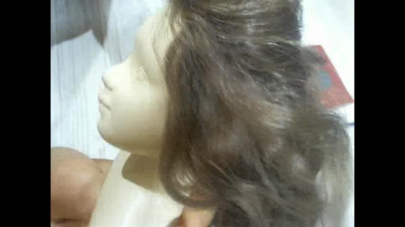 Лайфхак для темных волосы куклы. Глумова Альбина.